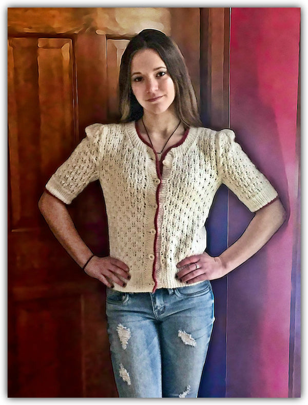 Butterfly Kisses Sweater - Designed by Kate Lemmers