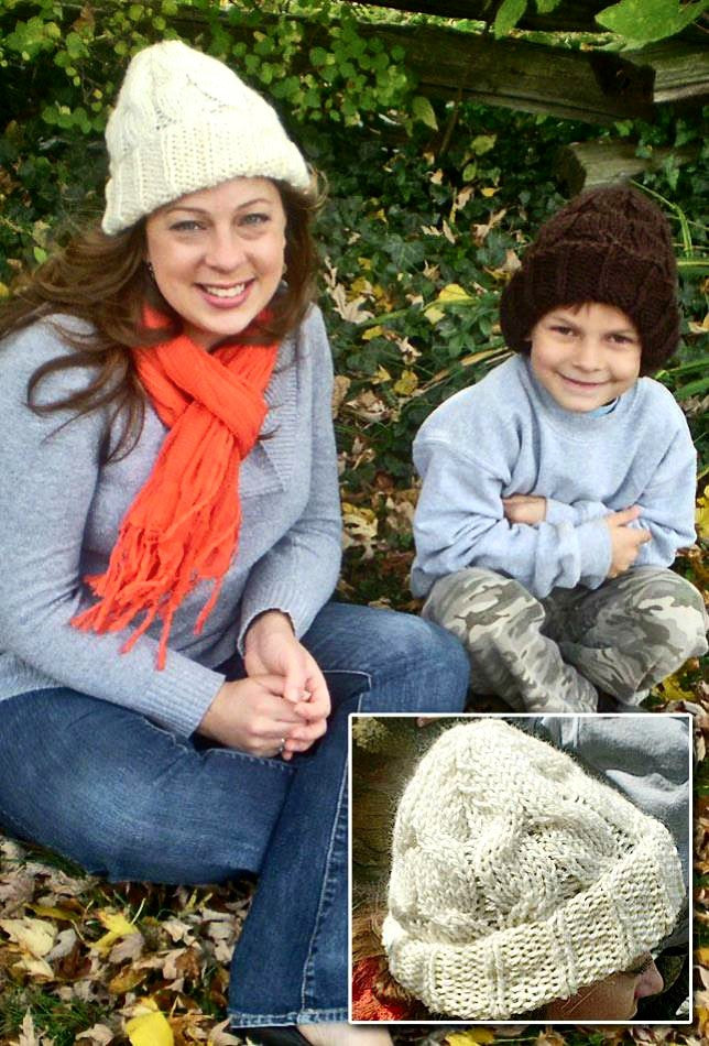 Chunky Cable Hat - Designed by Kat Koeller