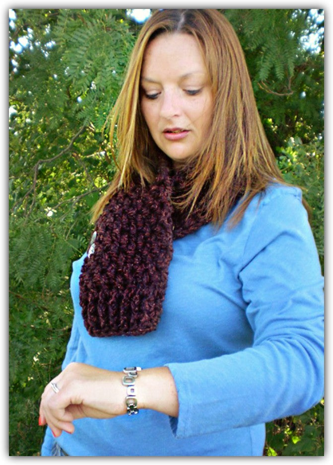 Crochet 2.5 Hour Cowl - Designed by Kat Koeller