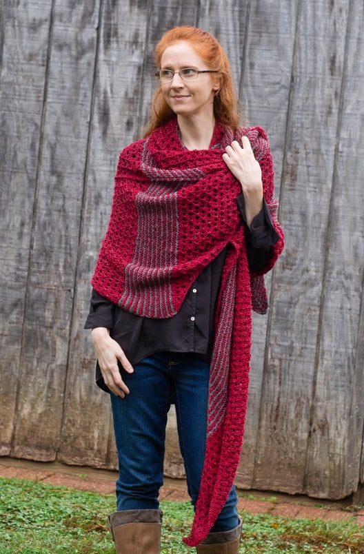 Chestnut Hill Shawl Kit - Designed by Vanessa Ewing