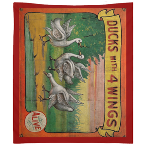4 Winged Duck Tapestry