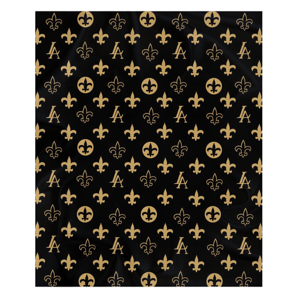Saints Fleece Sherpa Blankets