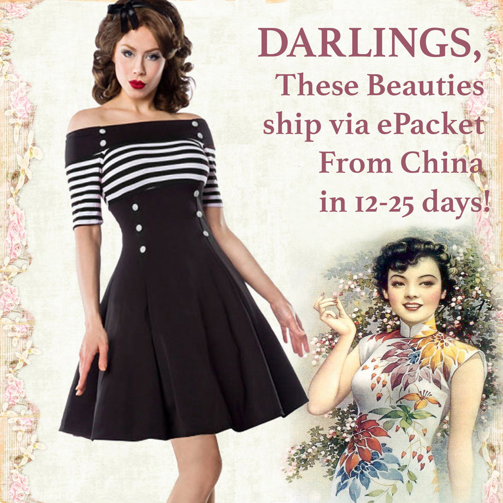 2e24afc20890 Black and White Nautical Striped Off the Shoulder Swing Dress ...