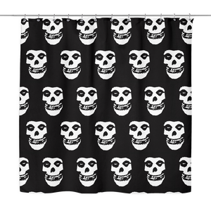 The Misfits Crimson Ghost Shower Curtain