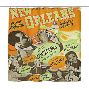 NOLA JAZZ MASTERS Shower Curtain