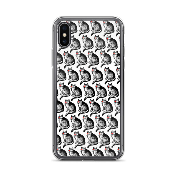 Crazy Cat Kliban iPhone Case - all models