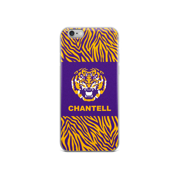 LSU custom name iPhone case - all models!