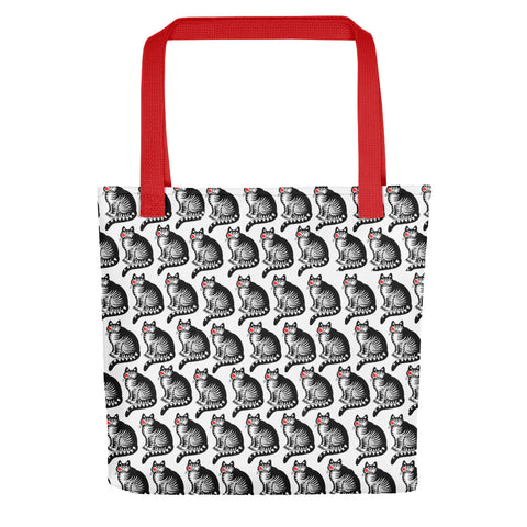 Crazy Cat Kliban Tote bag