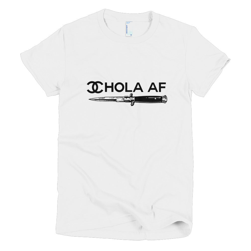 Chola Chicano AF Short sleeve women's t-shirt