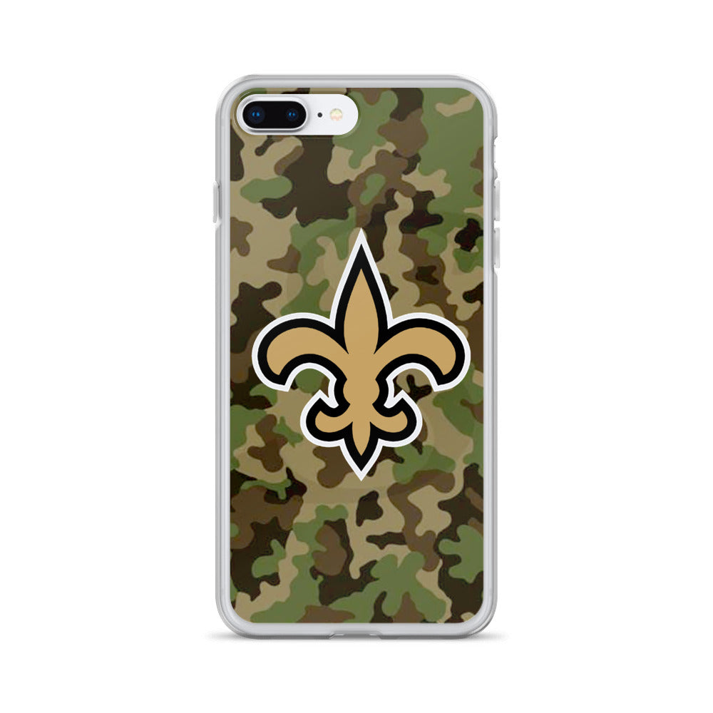 camouflage New Orleans Saints iPhone case