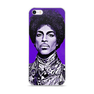 The Artist Purple Prince iPhone Case