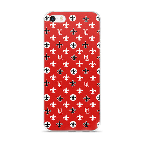 University of Louisiana Ragin' Cajuns UL Louis iPhone Case