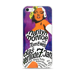 Marilyn Monroe Vintage 7 Year Itch Poster iPhone Case  / 6S / 7 / 8 / PLUS / X