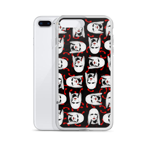 Blondie Deborah Harry Call Me iPhone Case