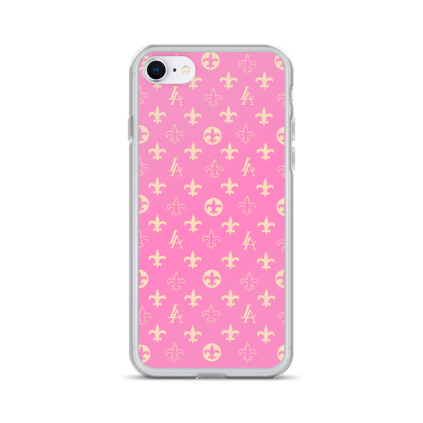 PINK New Orleans Saints Louisiana Elegance iPhone Case