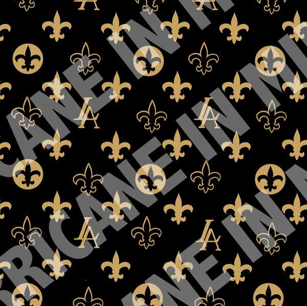 "New Orleans Saints Louisiana Elegance ""Louis"" Tote bag"