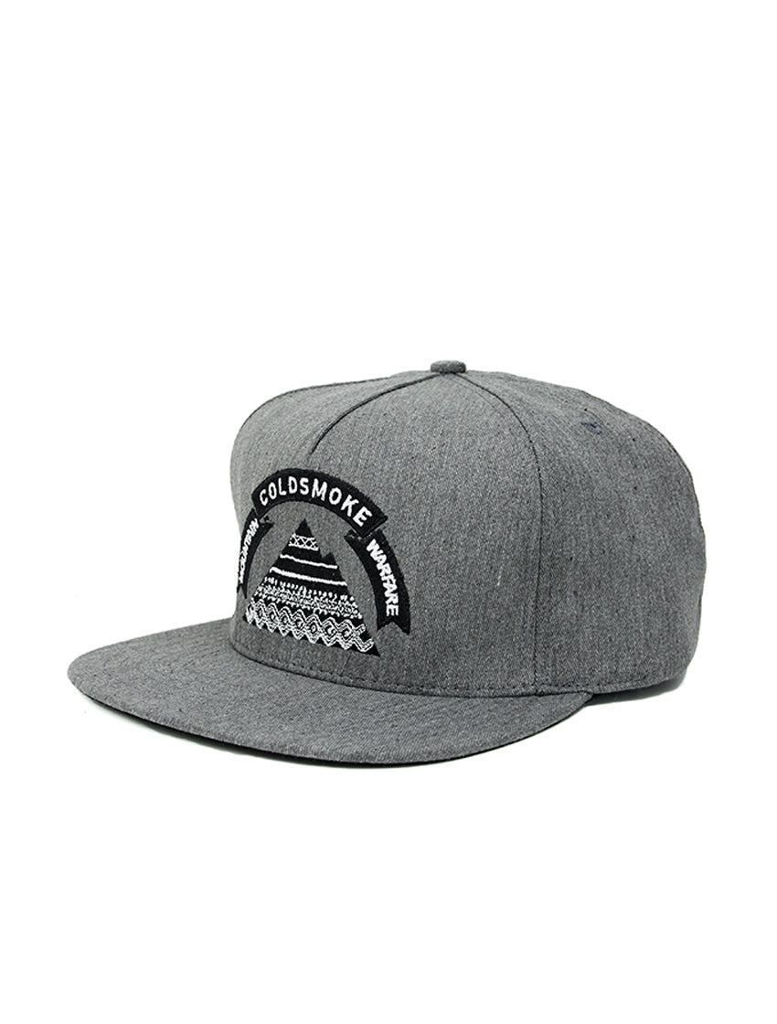 Mountain Snapback - Gray