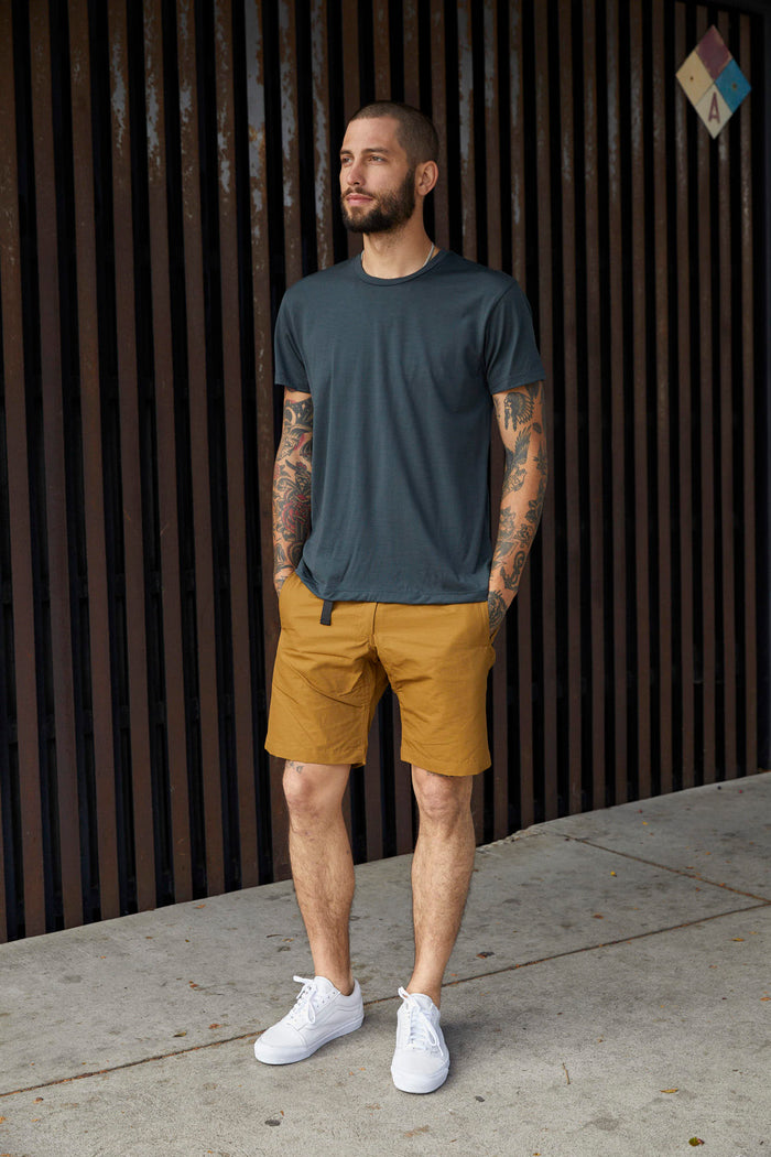 Trail Short - Mustard