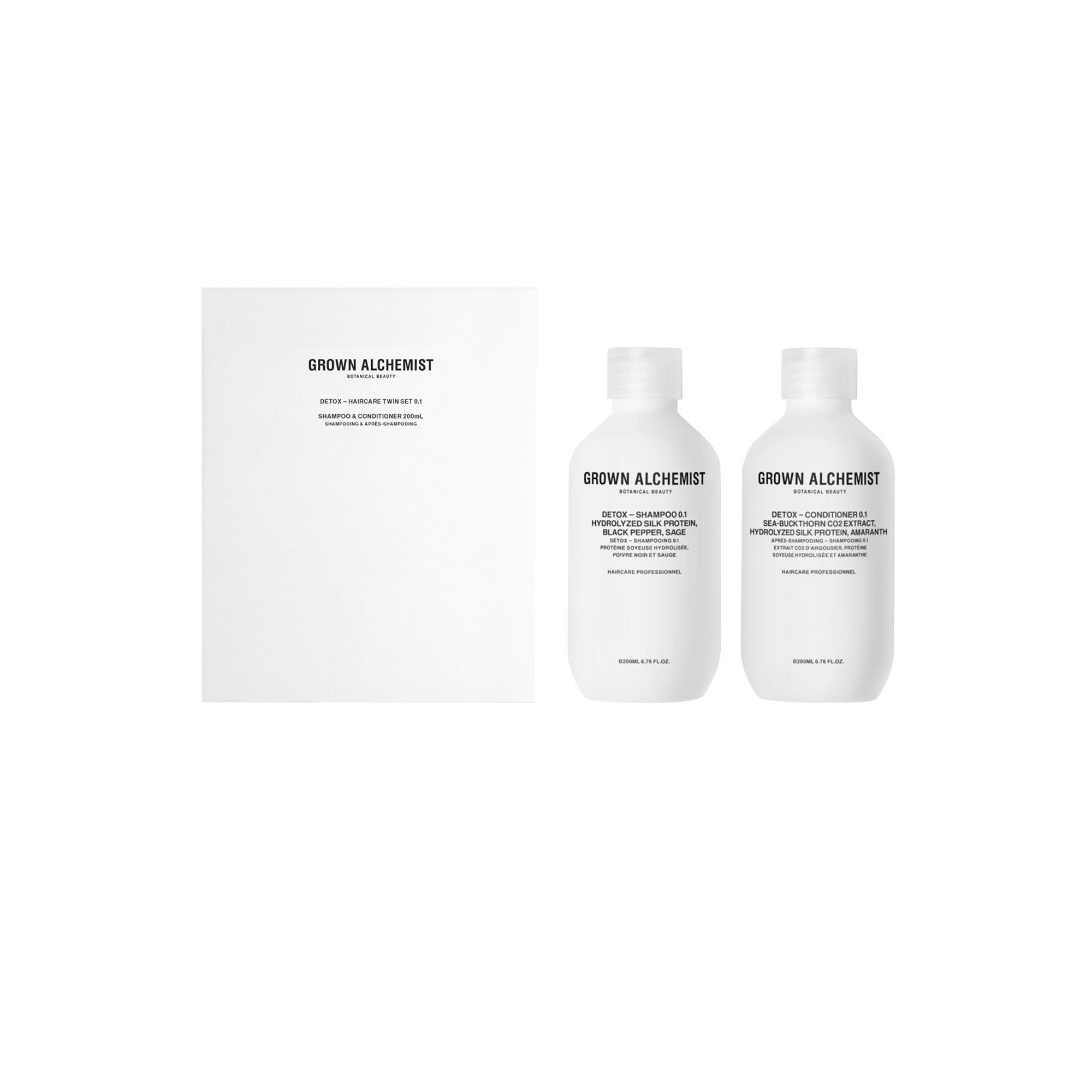 Detox Haircare - 200ml Set