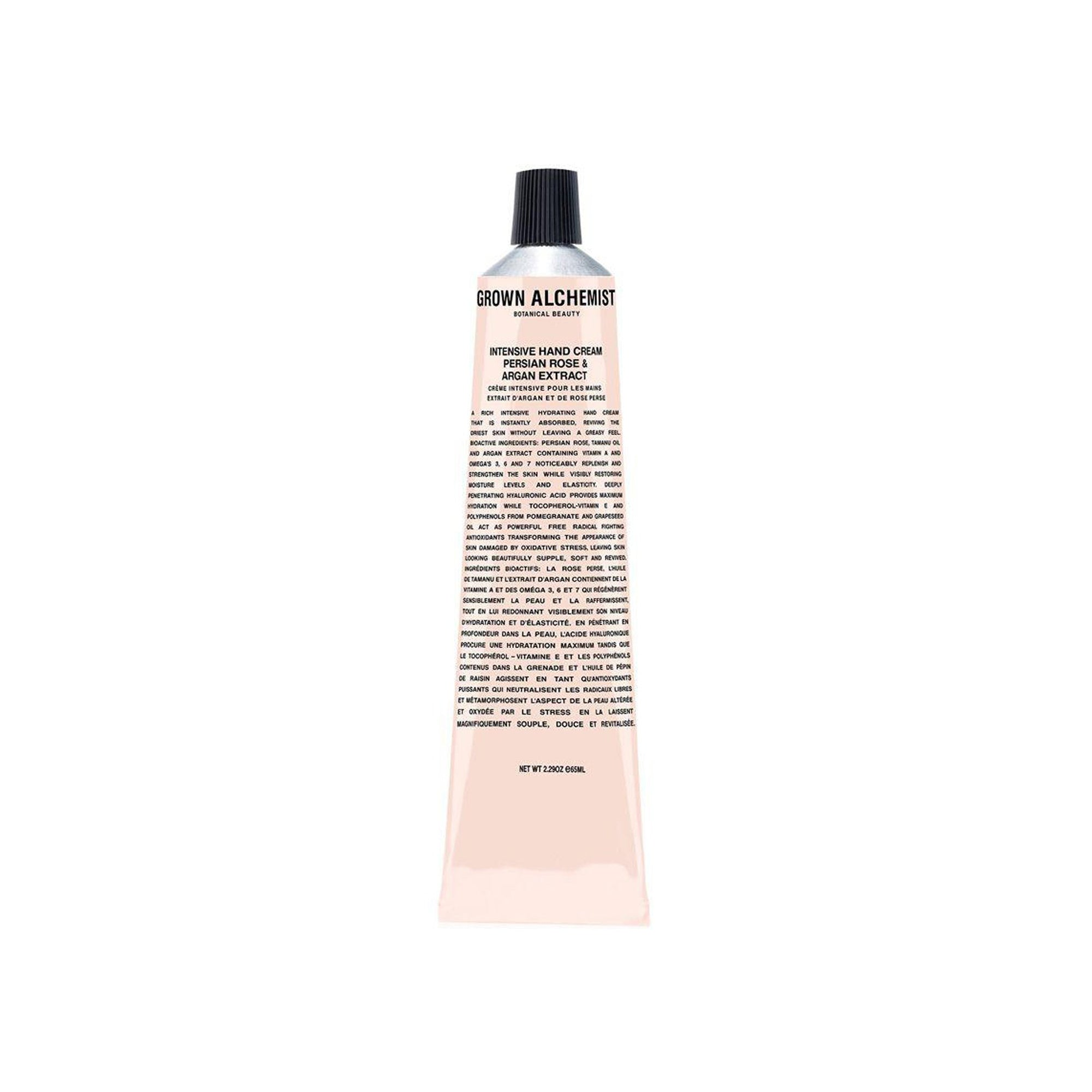 Intensive Hand Cream: Persian Rose & Argan Extract - 65ml