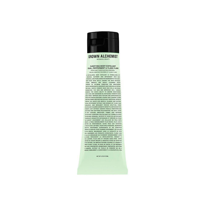 Purifying Body Exfoliant: Pearl, Peppermint & Ylang Ylang