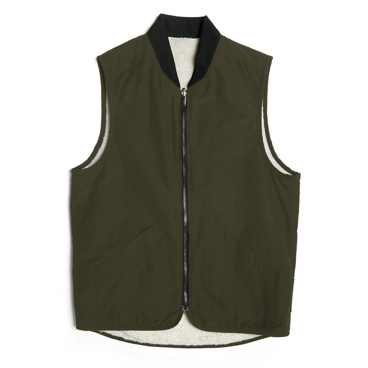 The Norse Reversible Shearling Vest