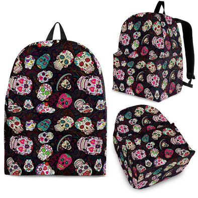Trendy Sugar Skulls Colorful Backpack - AroMama Essentials