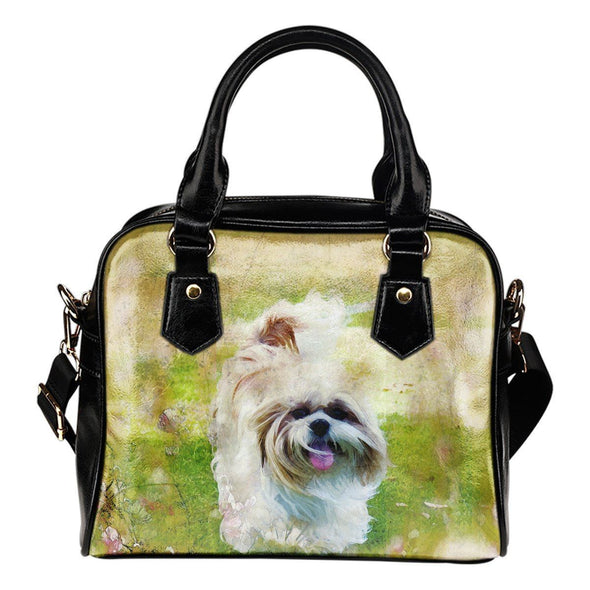 Shih Tzu Shoulder Handbag - AroMama Essentials