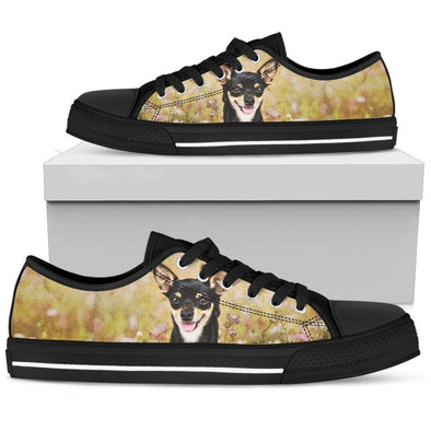 Women's Chihuahua Low Top Shoes - AroMama Essentials