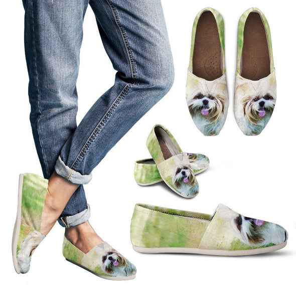 Women's Shih Tzu Casual Shoes - AroMama Essentials