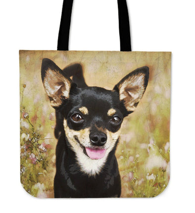 Chihuahua Cloth Tote Bag - AroMama Essentials
