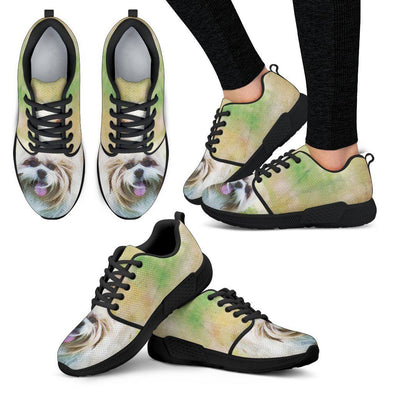Women's Shih Tzu Athletic Sneakers - AroMama Essentials