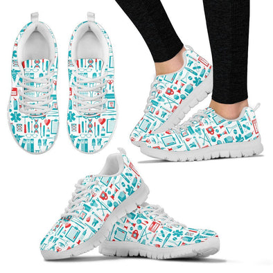 Nurse White Women's Sneakers