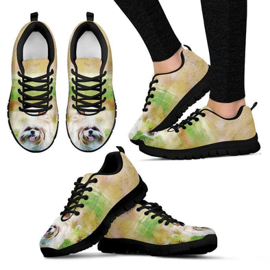 Women's Shih Tzu Sneakers - AroMama Essentials
