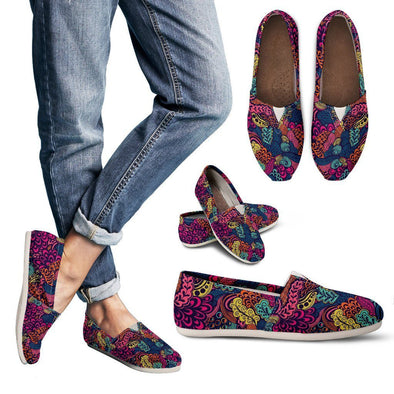 Women's Psychedelic Casual Shoes - AroMama Essentials