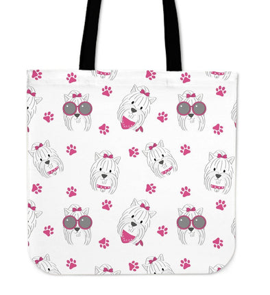 My Yorkie Cloth Tote Bag - AroMama Essentials