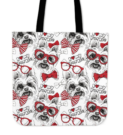 Yorkshire Terrier Cloth Tote Bag - AroMama Essentials