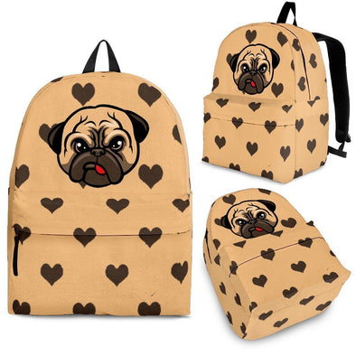 Cute Pug Designed Backpack - AroMama Essentials