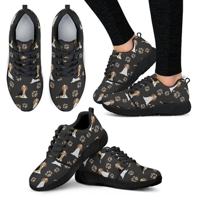 Women's Beagle Athletic Sneakers - AroMama Essentials