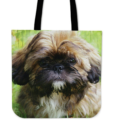 Shih Tzu Lovers Cloth Tote Bag - AroMama Essentials