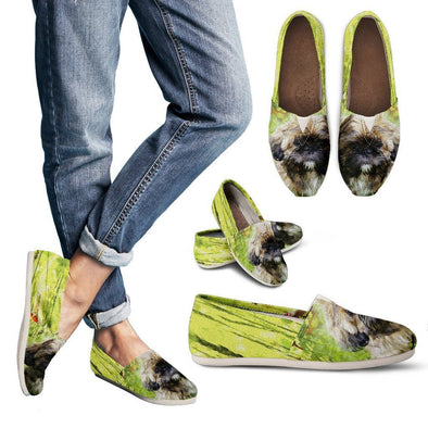 Women's Shih Tzu Lovers Casual Shoes - AroMama Essentials