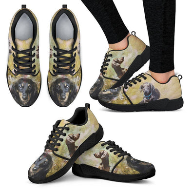 Women's Dachshund Athletic Sneakers - AroMama Essentials