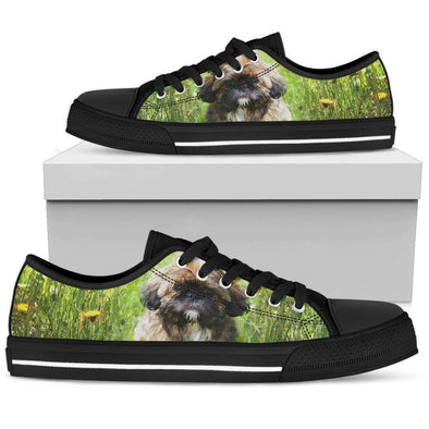 Women's Shih Tzu Lovers Low Top Shoes - AroMama Essentials