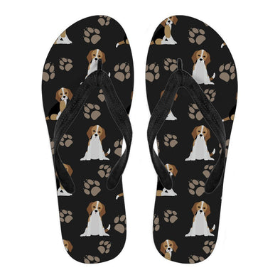 Women's Beagle Flip Flops - AroMama Essentials