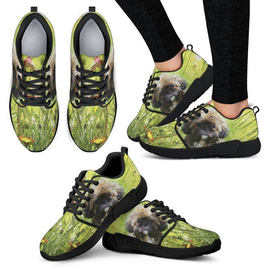 Women's Shih Tzu Lovers Athletic Sneakers - AroMama Essentials