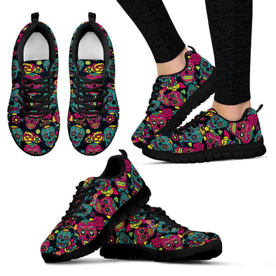Women's Sugar Skulls III Sneakers - AroMama Essentials