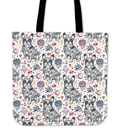 French Bulldog Cloth Tote Bag - AroMama Essentials