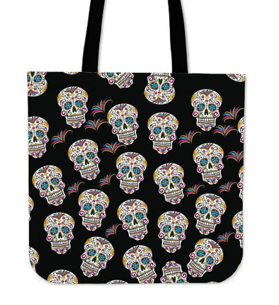 My Sugar Skulls II Cloth Tote Bag - AroMama Essentials