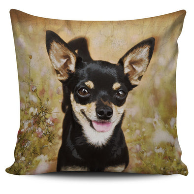 Chihuahua Throw Pillow Case - AroMama Essentials