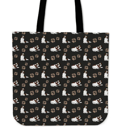 St. Bernard Cloth Tote Bag - AroMama Essentials